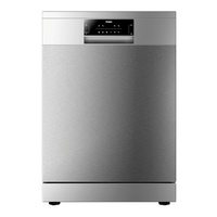 Haier dishwasher 13 place setting silver